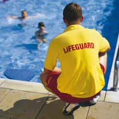 supervising lifeguard