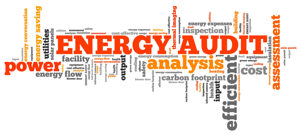 Graphic about energy audits